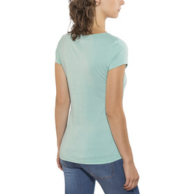 Kaikkialla Tytti Drirelease - Camiseta manga corta Mujer - azul